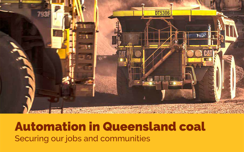 automation in queensland coal - mining & energy union